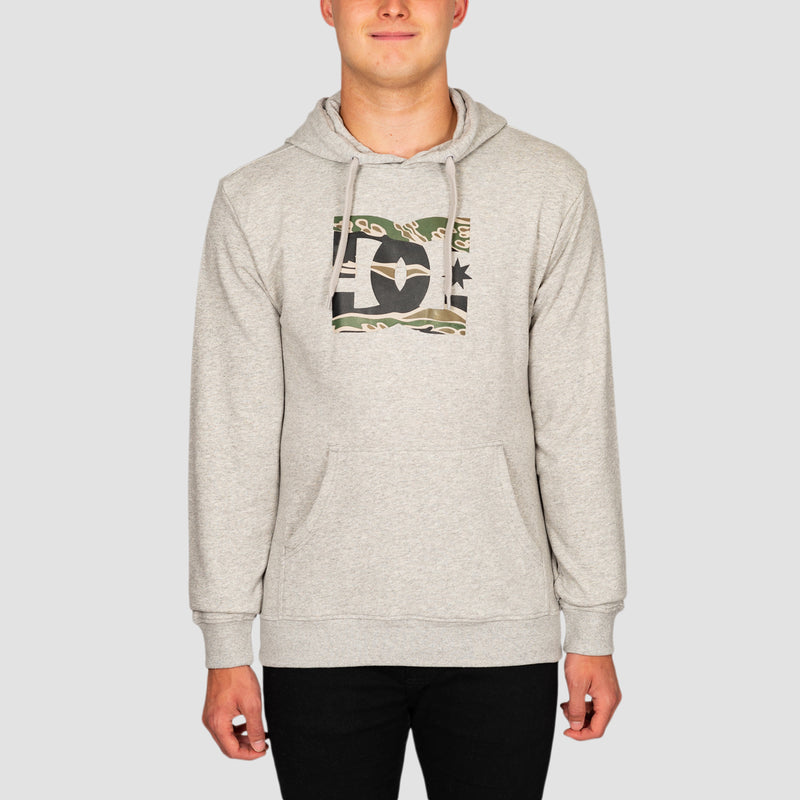 DC Star Pullover Hood Grey Heather/Camo