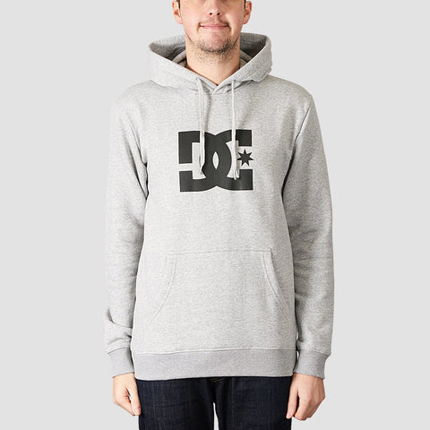 DC Star Pullover Hood Grey Heather