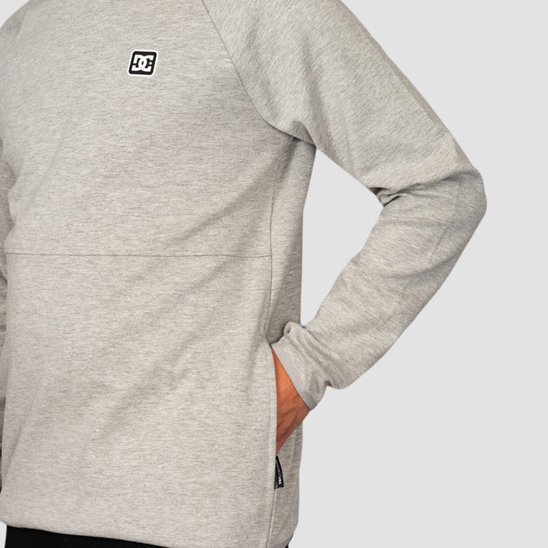 DC Statford Crew Sweat Grey Heather