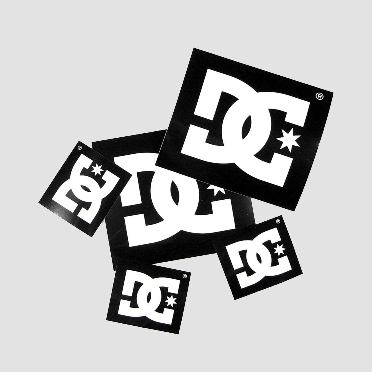DC Stickers Pack x5 - Skateboard
