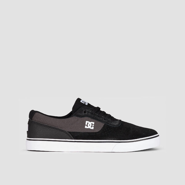 DC Switch Black/Dark Grey/White - Footwear