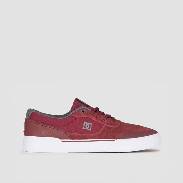 DC Switch Plus S Burgundy - Footwear