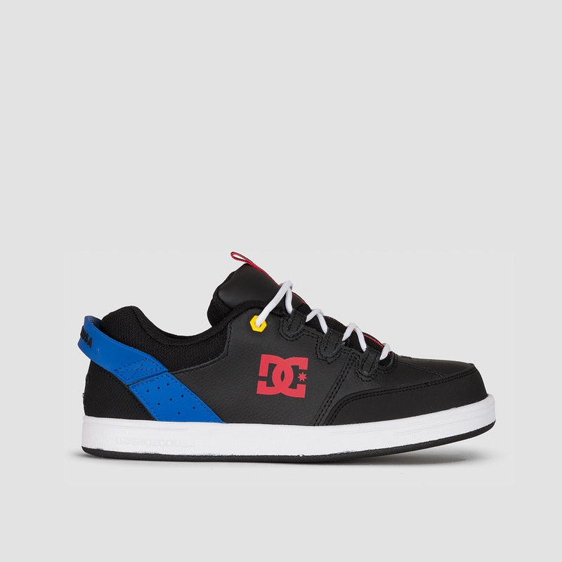 DC Syntax Black/Blue/Red - Kids - Footwear