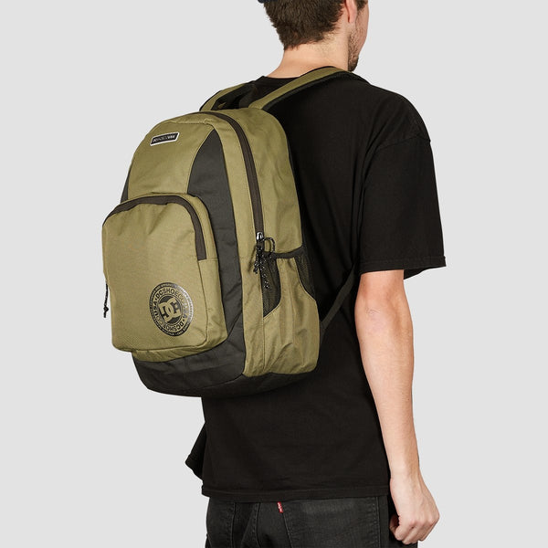 DC The Locker 23L Backpack Burnt Olive - Accessories