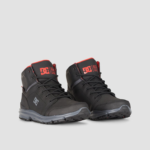 DC Torstein Boot Black/Grey/Red - Footwear