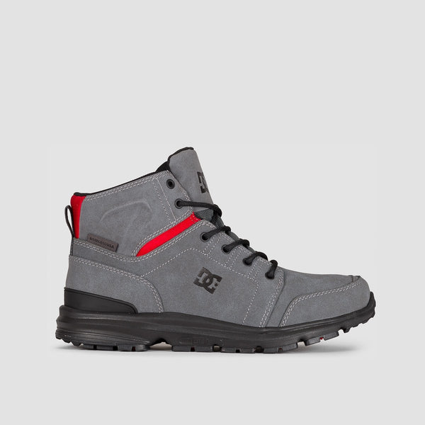 DC Torstein Boots Grey/Black/Red - Footwear