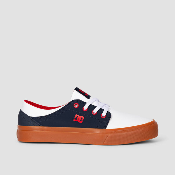 DC Trase Navy/White - Kids