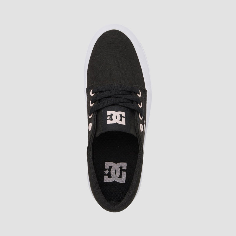 DC Trase Platform Black/Pink - Girls