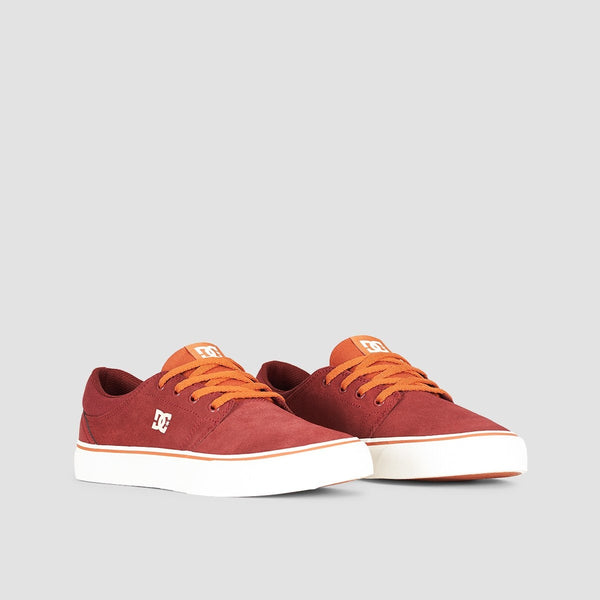 DC Trase SD Burgundy/Tan - Footwear