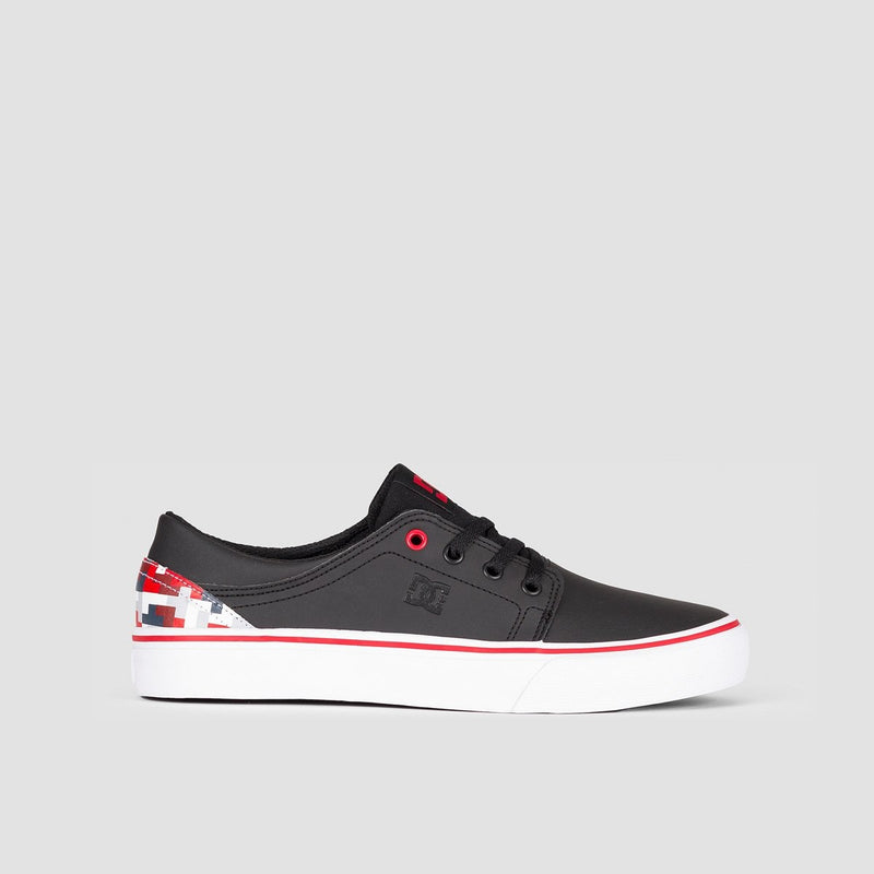 DC Trase SE Black/Multi - Kids - Footwear