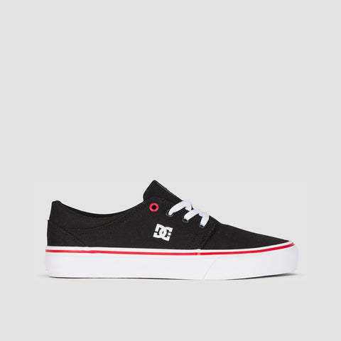 DC Trase TX Black/White/Red - Womens