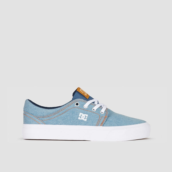DC Trase TX SE Blue/White/Blue - Womens - Footwear