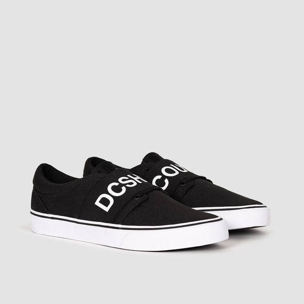 DC Trase TX SP Black/White - Kids