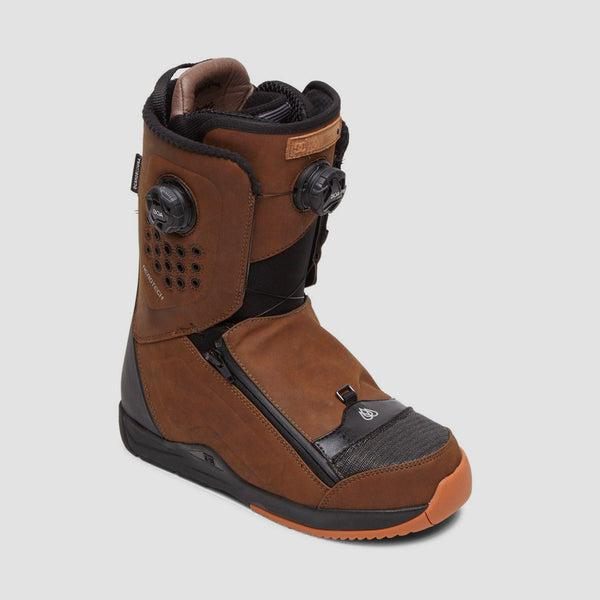 DC Travis Rice BOA Snowboard Boots Brown