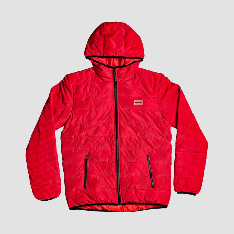 DC Turner Puffer Jacket Racing Red