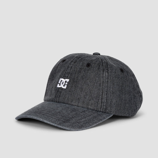 DC Uncle Fred 2 Cap Black Rinse