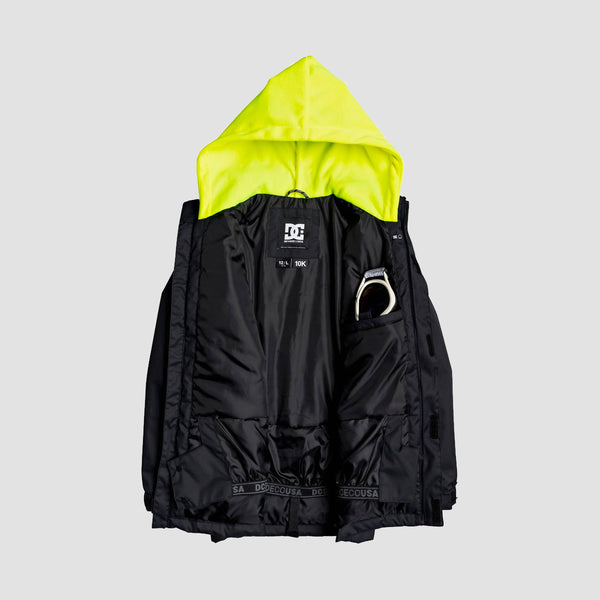DC Union Snow Jacket Black - Kids