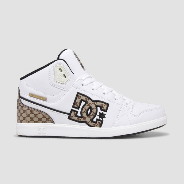 DC University Mid SESN Black/Brown/White - Womens