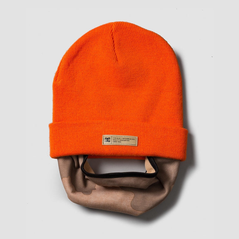 DC Variable Neckwarmer Red Orange - Snowboard