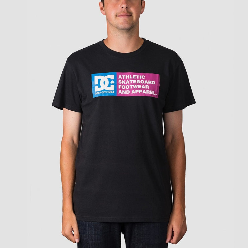DC Vertical Zone 2 Tee Black - Clothing