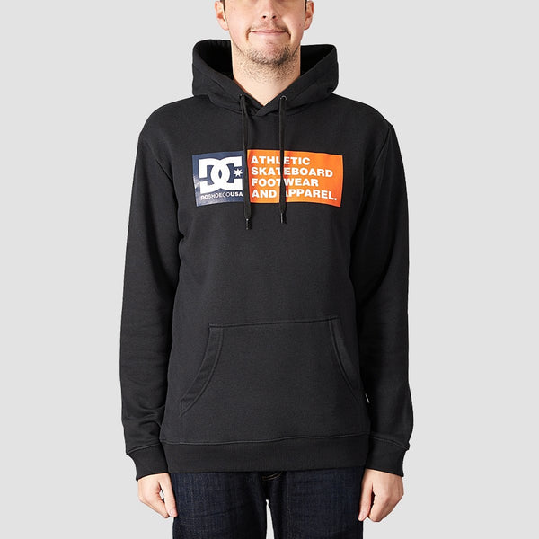 DC Vertical Zone Pullover Hood Black - Clothing