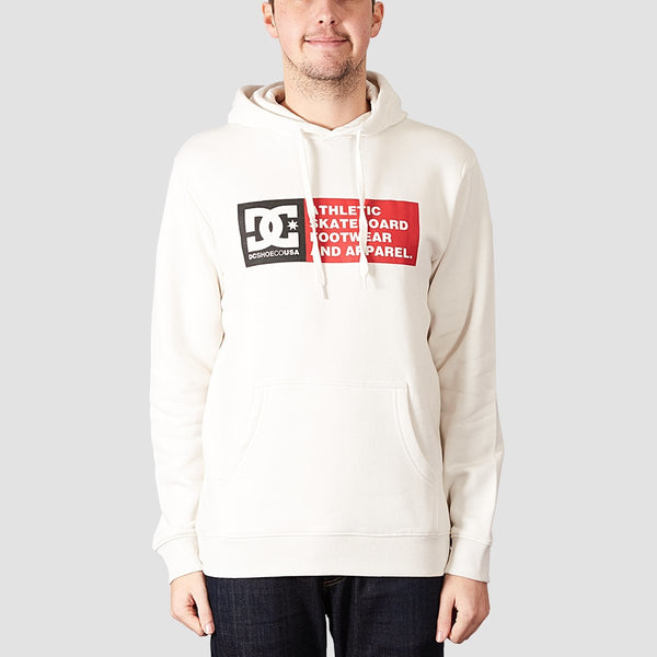 DC Vertical Zone Pullover Hood Snow White - Clothing