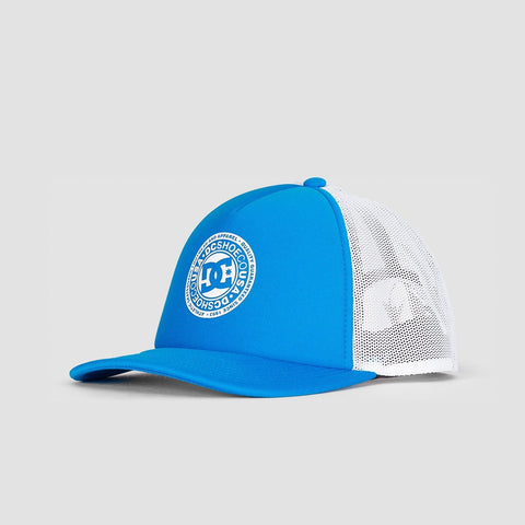 DC Vested Up Trucker Cap Brilliant Blue
