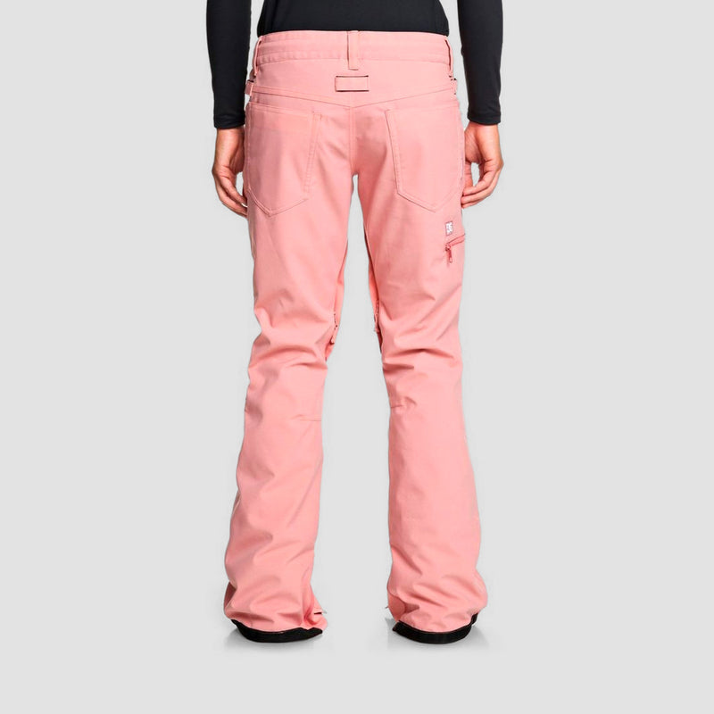 DC Viva Snow Pants Bio Wash Dusty Rose - Womens