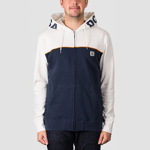 DC Wepma Zip Hood Black Iris/Snow White