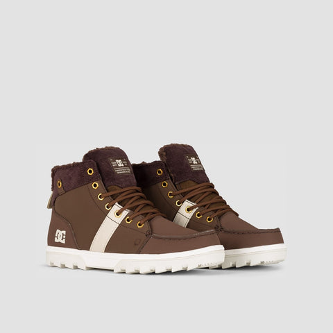 DC Woodland Boots Chocolate Brown - Footwear