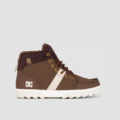 DC Woodland Boots Chocolate Brown