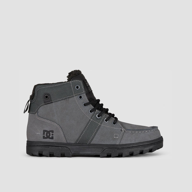 DC Woodland Boots Grey/Black - Footwear