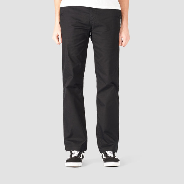 DC Worker Relaxed Fit Chino Pants Black 2 - Clothing