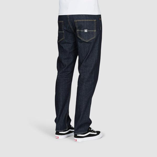 DC Worker Relaxed Fit Jeans Indigo Rinse