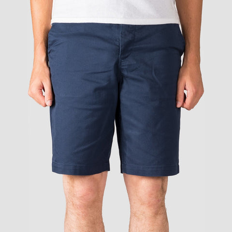 "DC Worker Straight 20.5"" Chino Shorts Black Iris"