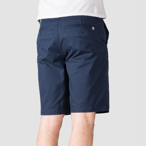 DC Worker Straight 20.5 Chino Shorts Black Iris - Clothing