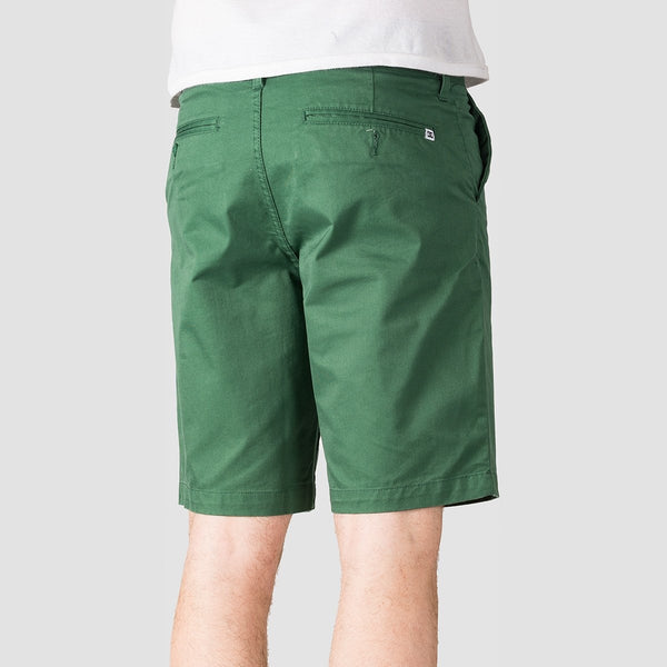 DC Worker Straight 20.5 Chino Shorts Hunter Green - Clothing