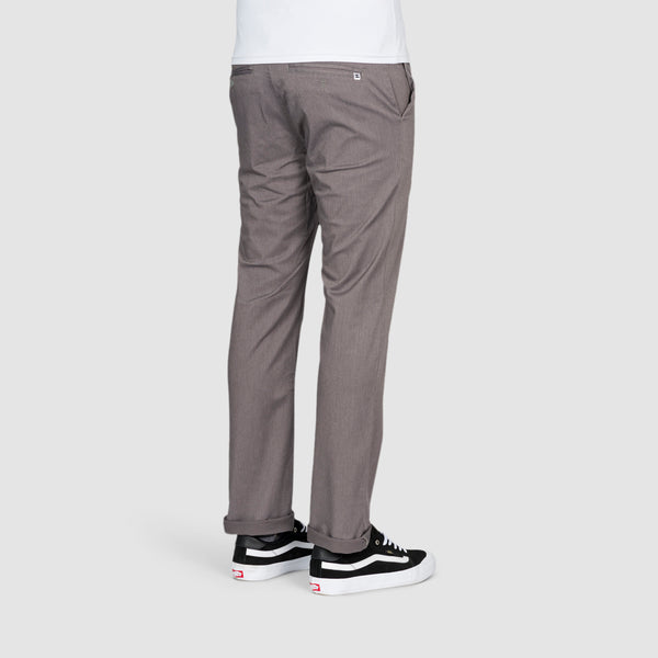 DC Worker Straight Fit Chino Pants Grey Heather