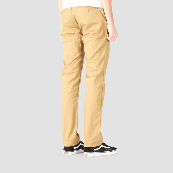 DC Worker Straight Fit Jeans Khaki - Clothing