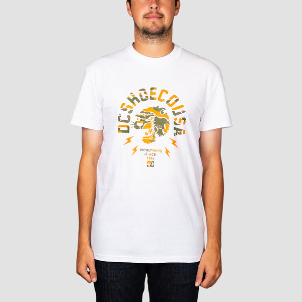DC Worldwide USA Tee White