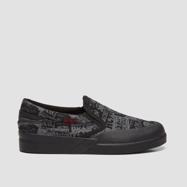 DC X AC/DC Infinite Slip On Black - Kids