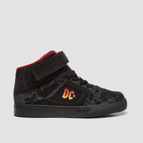 DC X AC/DC Pure High Black Gradient - Kids