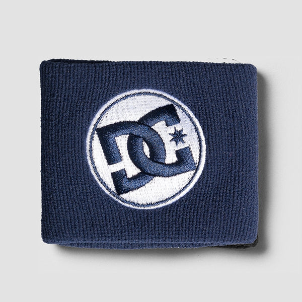 DC X New Era Wrist Sweatband Black Iris - Accessories