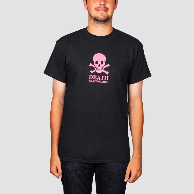 Death OG Skull Black/Hot Pink Tee