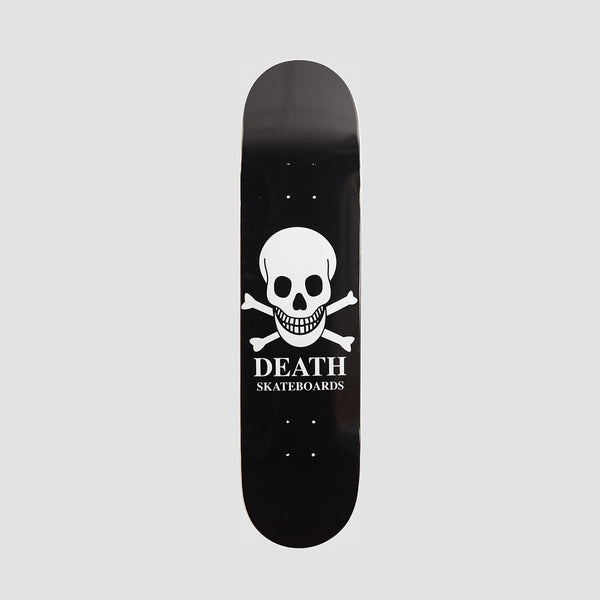 Death OG Skull Deck Black - 7.75 - Skateboard