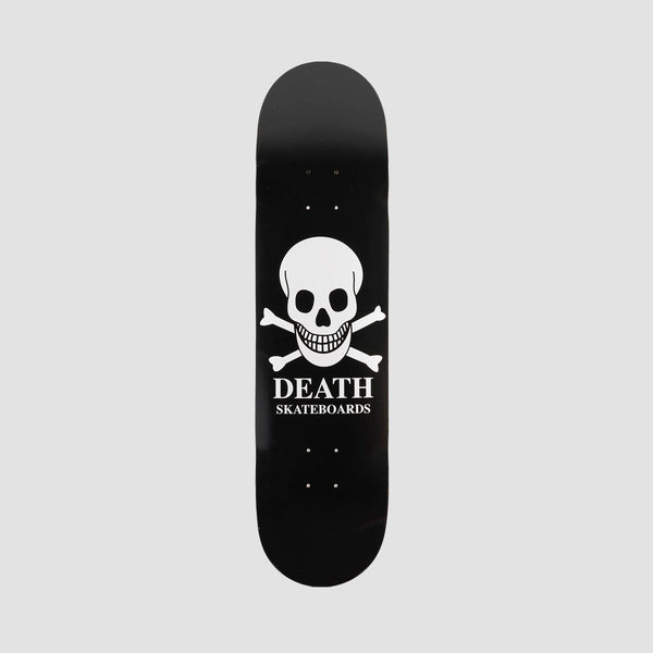 Death OG Skull Deck Black - 8.375""