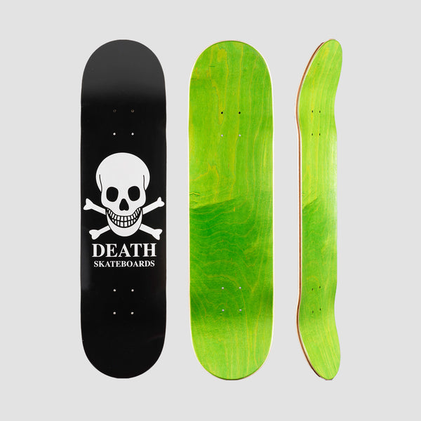 Death OG Skull Deck Black - 8.1""