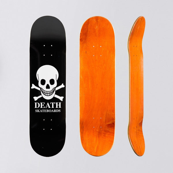 Death OG Skull Deck Black - 8.25 - Skateboard