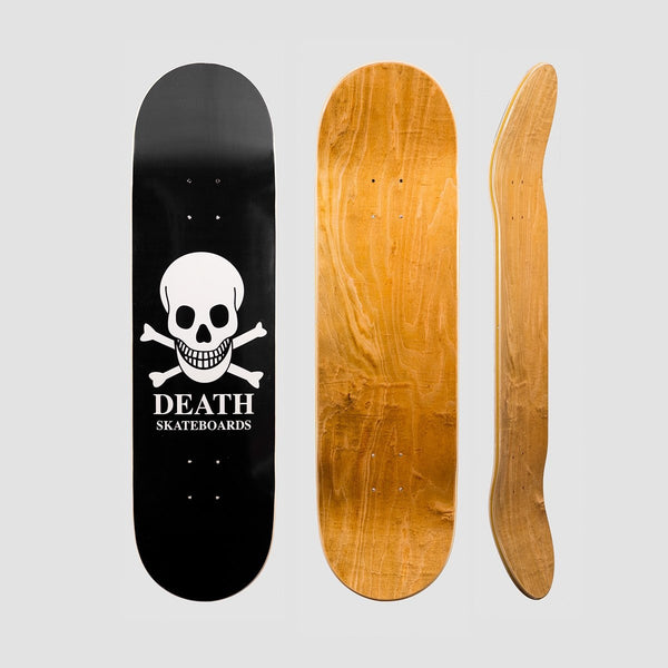 Death OG Skull Deck Black - 8.5 - Skateboard
