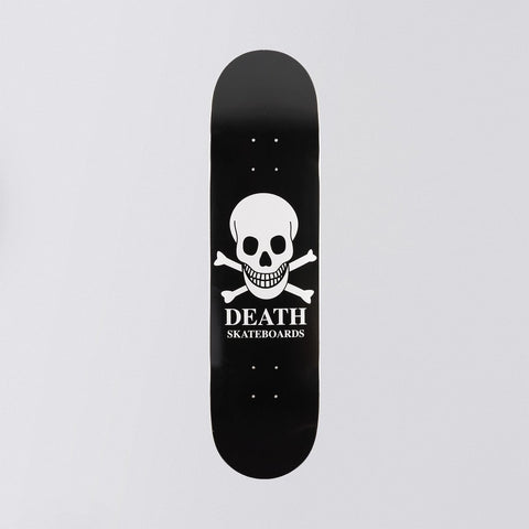 Death OG Skull Deck Black - 8""
